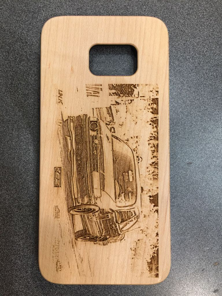 Photo Engraving on Phone Case Personalised Wooden Phone Case - Www.EverythingWood.Store