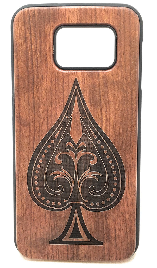 Design Wood Phone Case for Samsung - Www.EverythingWood.Store