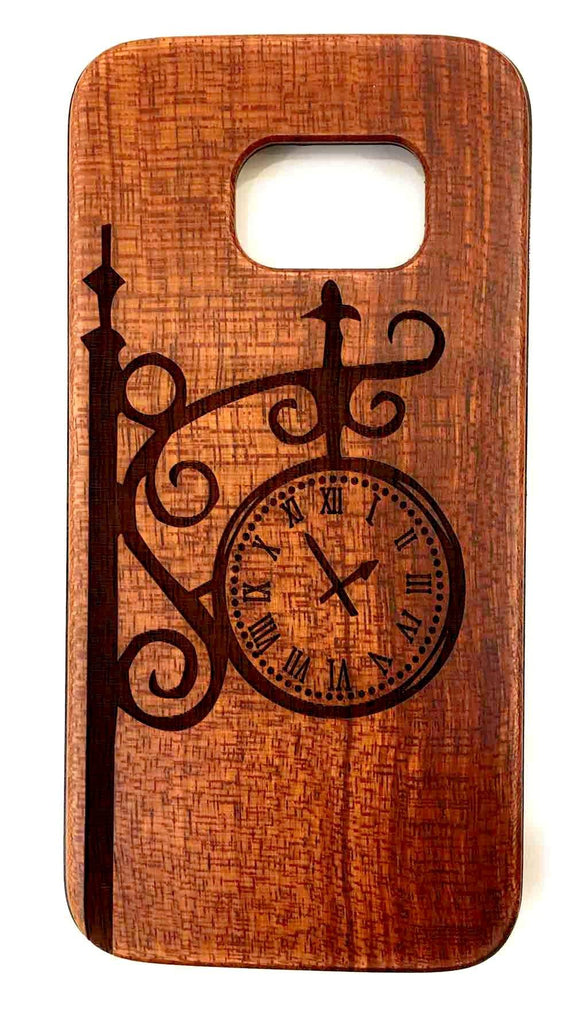 Custom Phone Cases Design Wood Case for Apple iPhone Samsung Galaxy S8, S9 Plus and Note 8