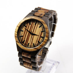 Full Wooden Luxury Watch - Www.EverythingWood.Store