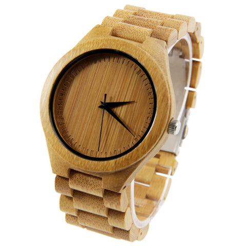 Full Wooden Luxury Watch Bamboo EWS-LBN022