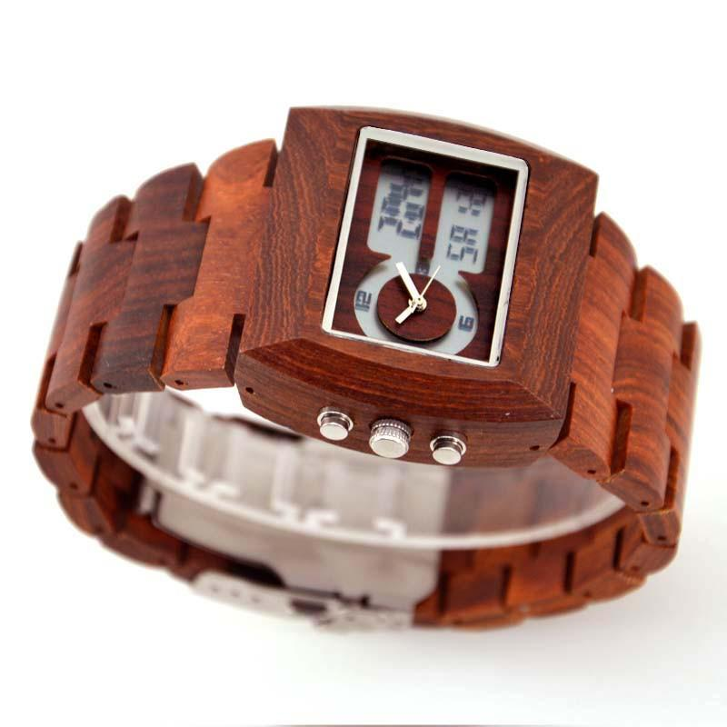 Wooden Luxury Watch-W021A - Www.EverythingWood.Store