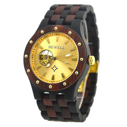 Wooden Luxury Watch-W131B - Www.EverythingWood.Store