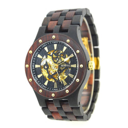 Wooden Luxury Watch-Automatic Movement - Www.EverythingWood.Store