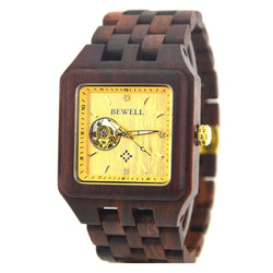 Luxury Wooden Watch Automatic Movement - Www.EverythingWood.Store