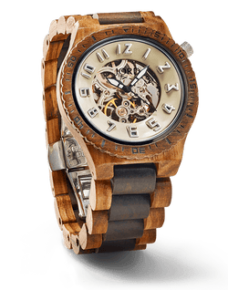 JORD DOVER SERIES - ZEBRAWOOD & DARK SANDALWOOD - EWS Custom Gifts - Everything Wood Store
