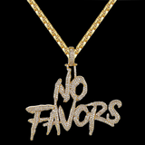 Custom No Favor Fully Iced Out Chain