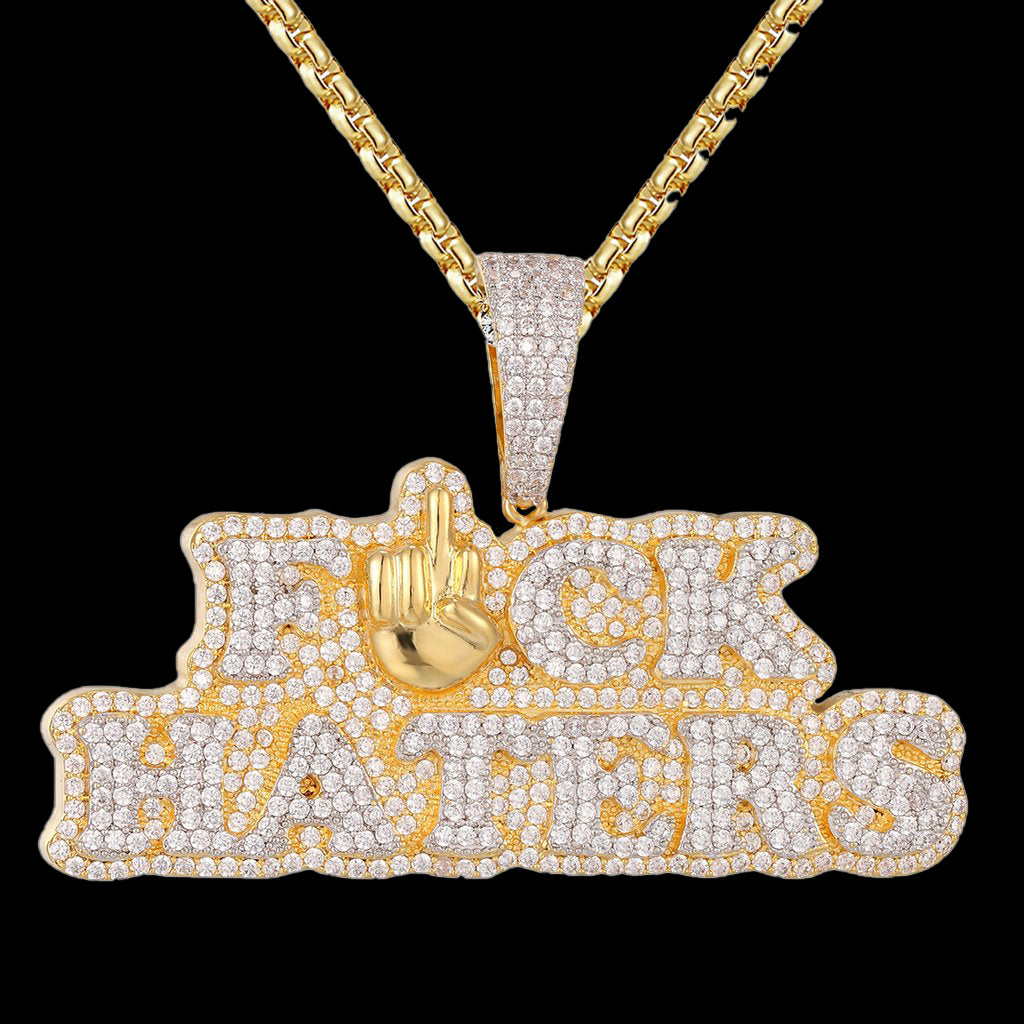 FUCK HATERS Pendant