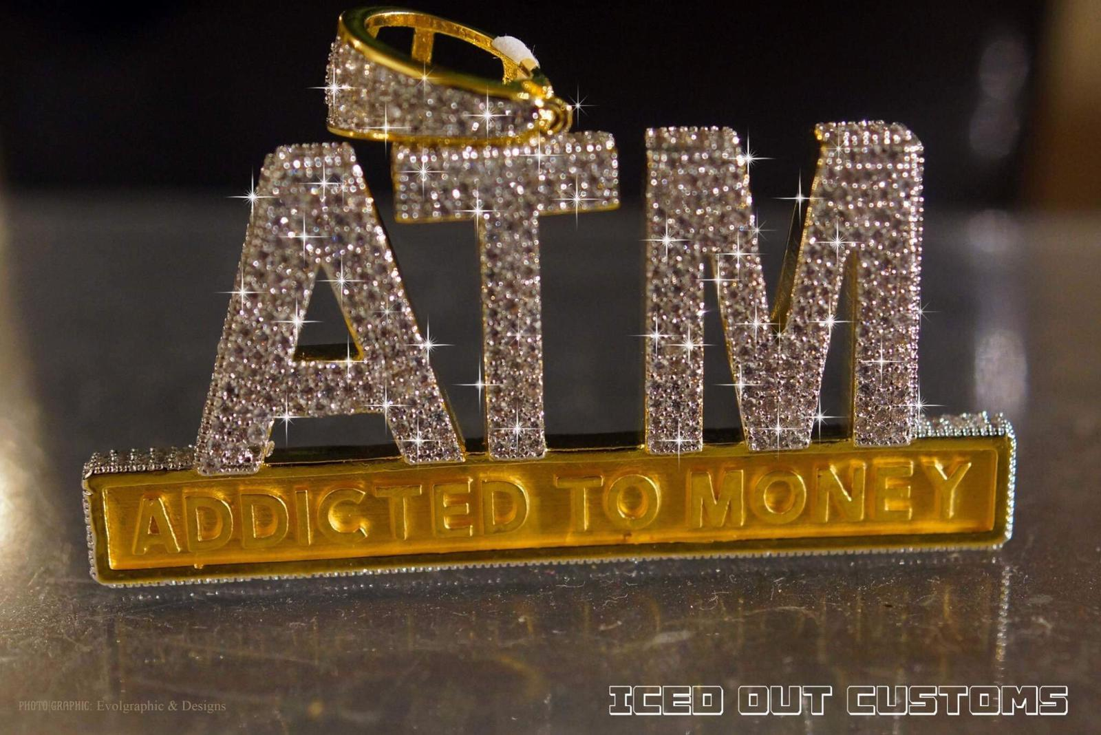 Custom Atm Iced Out Piece