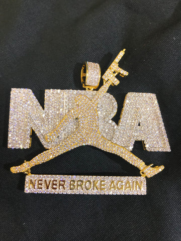 NBA gold jumpman