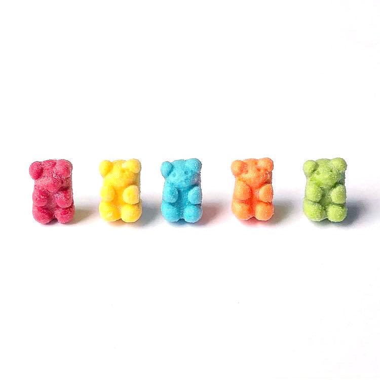 Gummy Bear Ear Studs - Gemnesis
