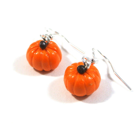 Halloween Pumpkin Earrings - Gemnesis