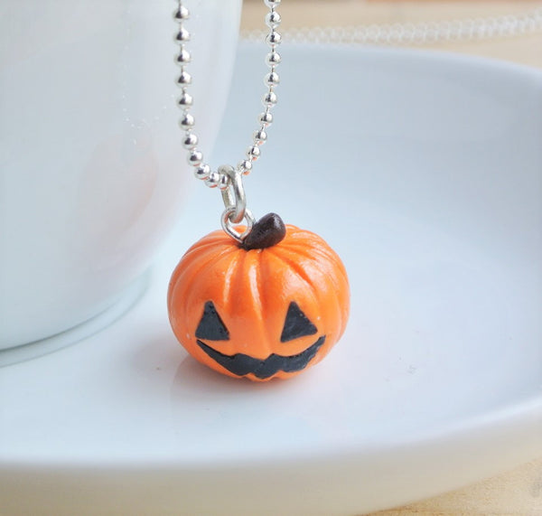Halloween Pumpkin Necklace - Gemnesis