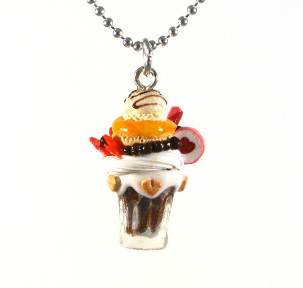 Vanilla Love Milkshake Necklace - Gemnesis