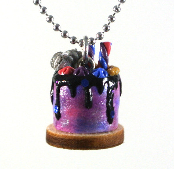 Galaxy Cake Necklace - Gemnesis