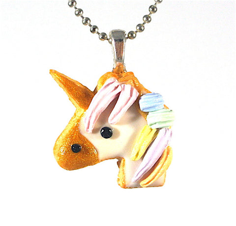 Unicorn Cookie Necklace - Gemnesis