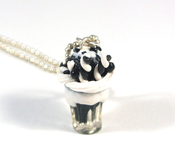 Monochrome Milkshake Necklace - Gemnesis