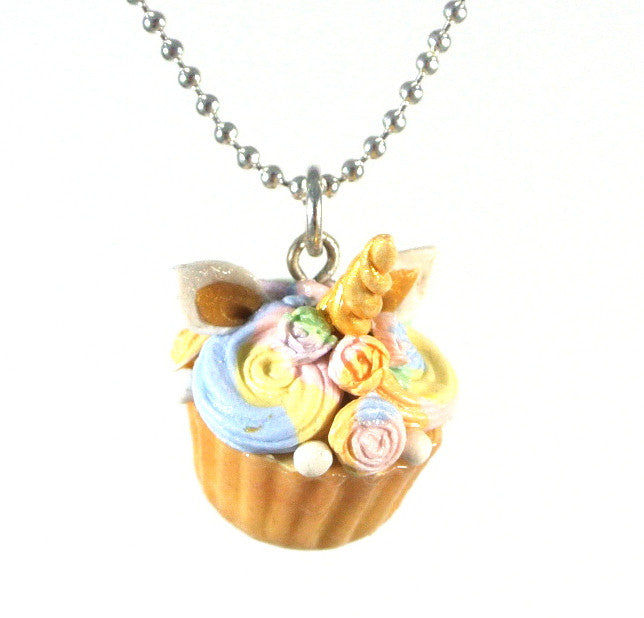 Unicorn Cupcake Necklace - Gemnesis