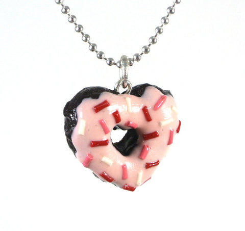 Heart Donut Necklace - Gemnesis