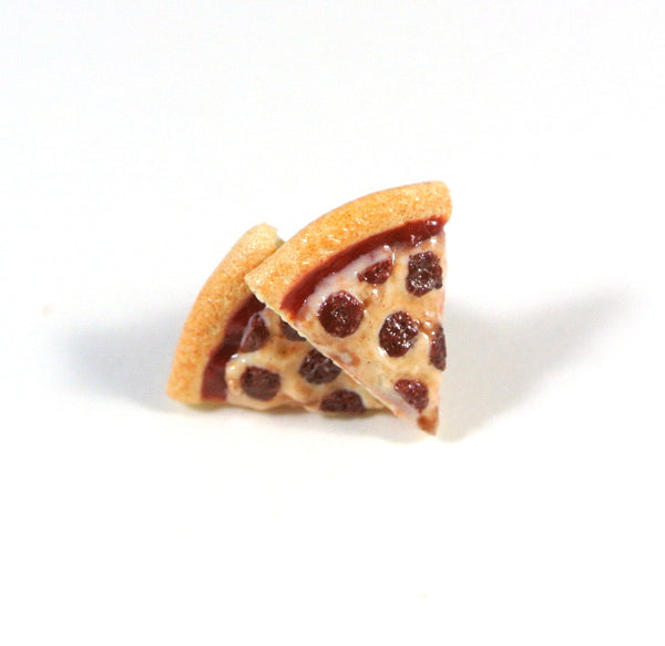 Pizza Ear Studs - Gemnesis