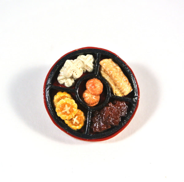 CNY Goodies Platter Brooch/Necklace - Gemnesis