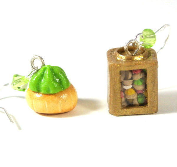 Traditional Gem Biscuit Tin Earrings- Mix and Match - Gemnesis