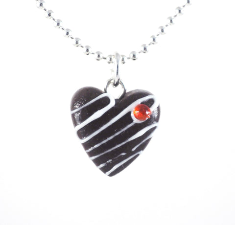Chocolate Heart Necklace - Gemnesis