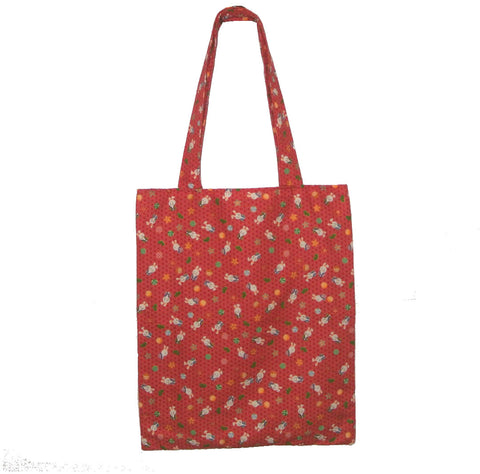 Tote Bag- Rabbit (Red) - Gemnesis
