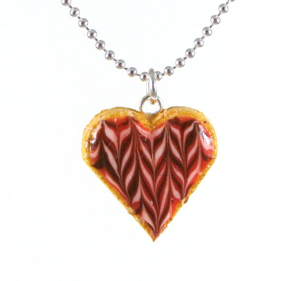 Heart Shape Cookie Necklace - Gemnesis