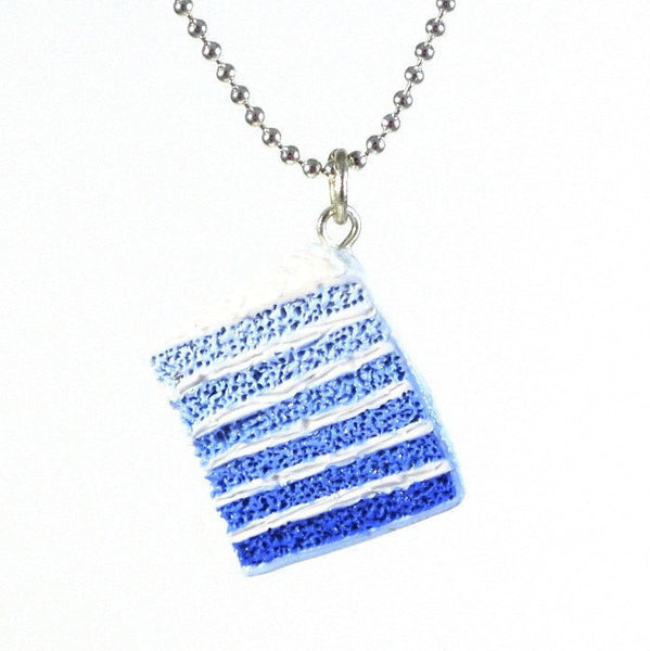 Blue Ombre Cake Necklace - Gemnesis