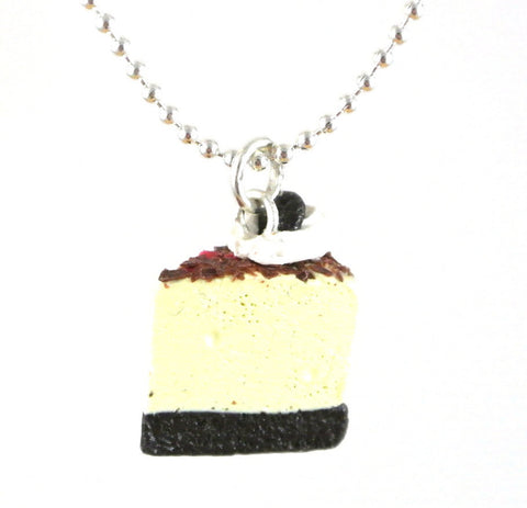 Chocolate Cookie Cheesecake Necklace - Gemnesis