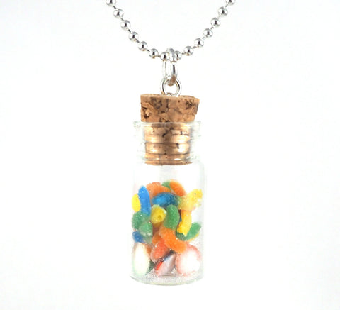 Mini Gummies in a Bottle Necklace - Gemnesis