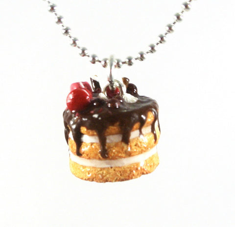 Macaron Three Tier Cake Necklace - Gemnesis