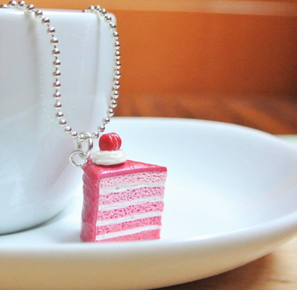 Pink Ombre Cake Necklace - Gemnesis