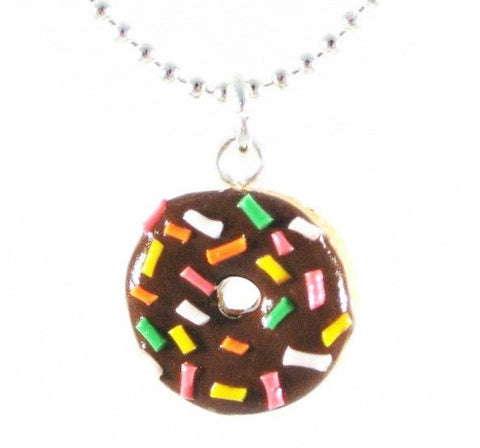 Rainbow Rice Donut Necklace - Gemnesis