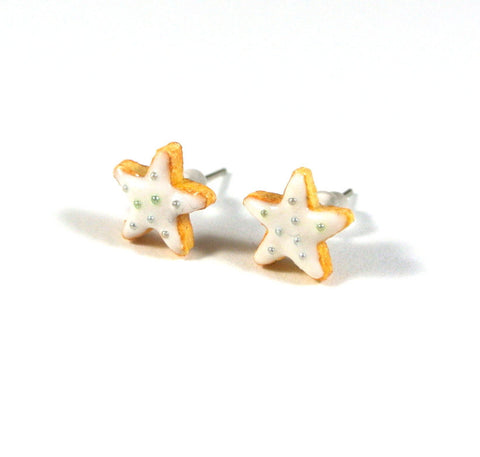 Star Cookie Ear Studs - Gemnesis