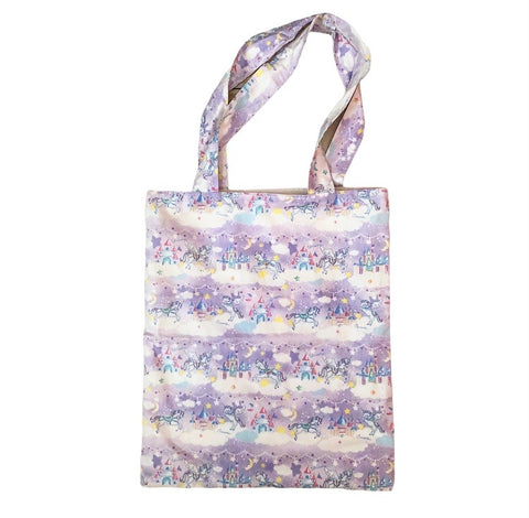 Tote Bag- Purple Unicorn