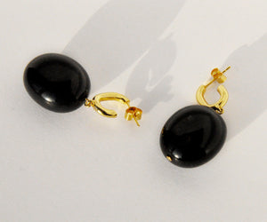 onyx earrings