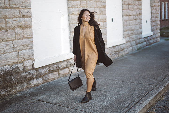 3 Ways to Wear it: The Madelyn Wool Coat