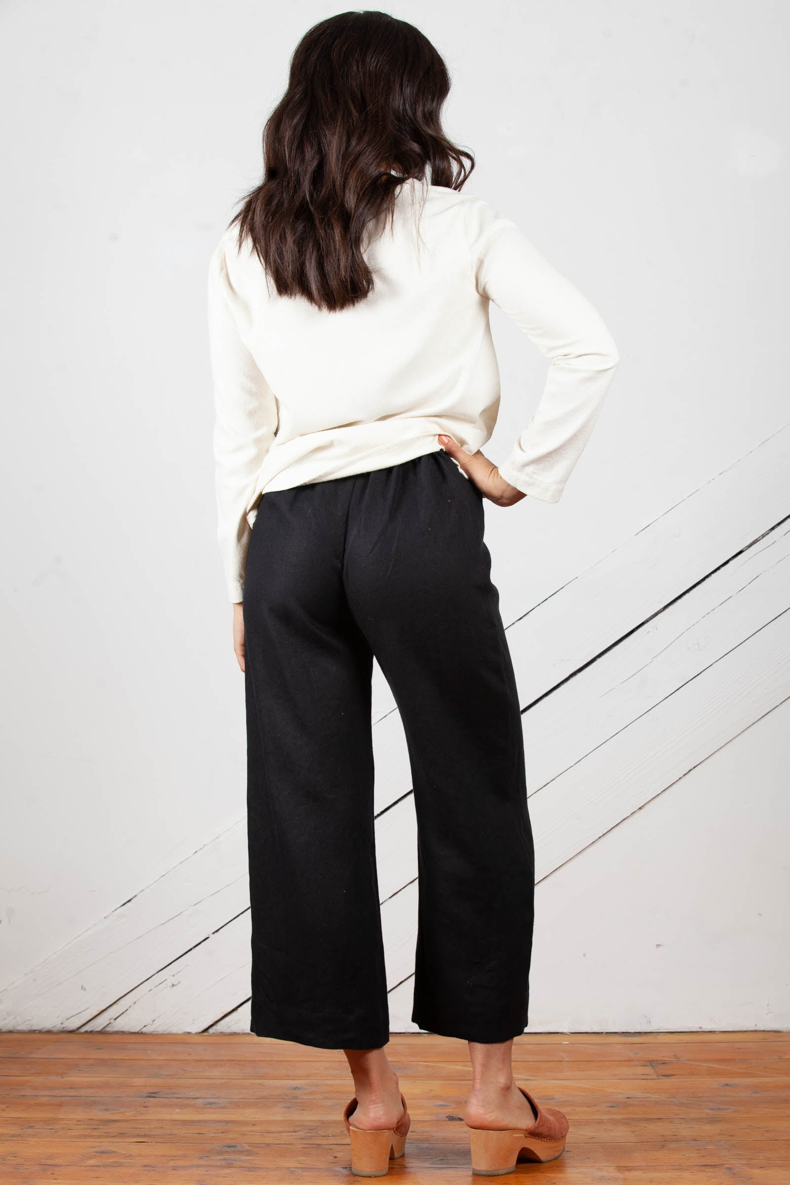 Dune Wide Leg Pants in Linen