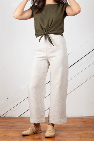Cove Pants in Linen