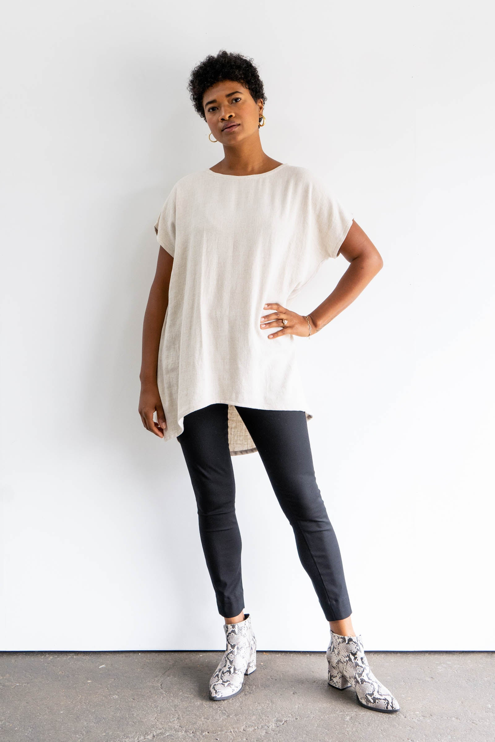 Alta Tunic in Cotton