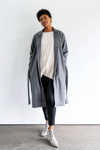Palm Jacket in Cotton Canvas