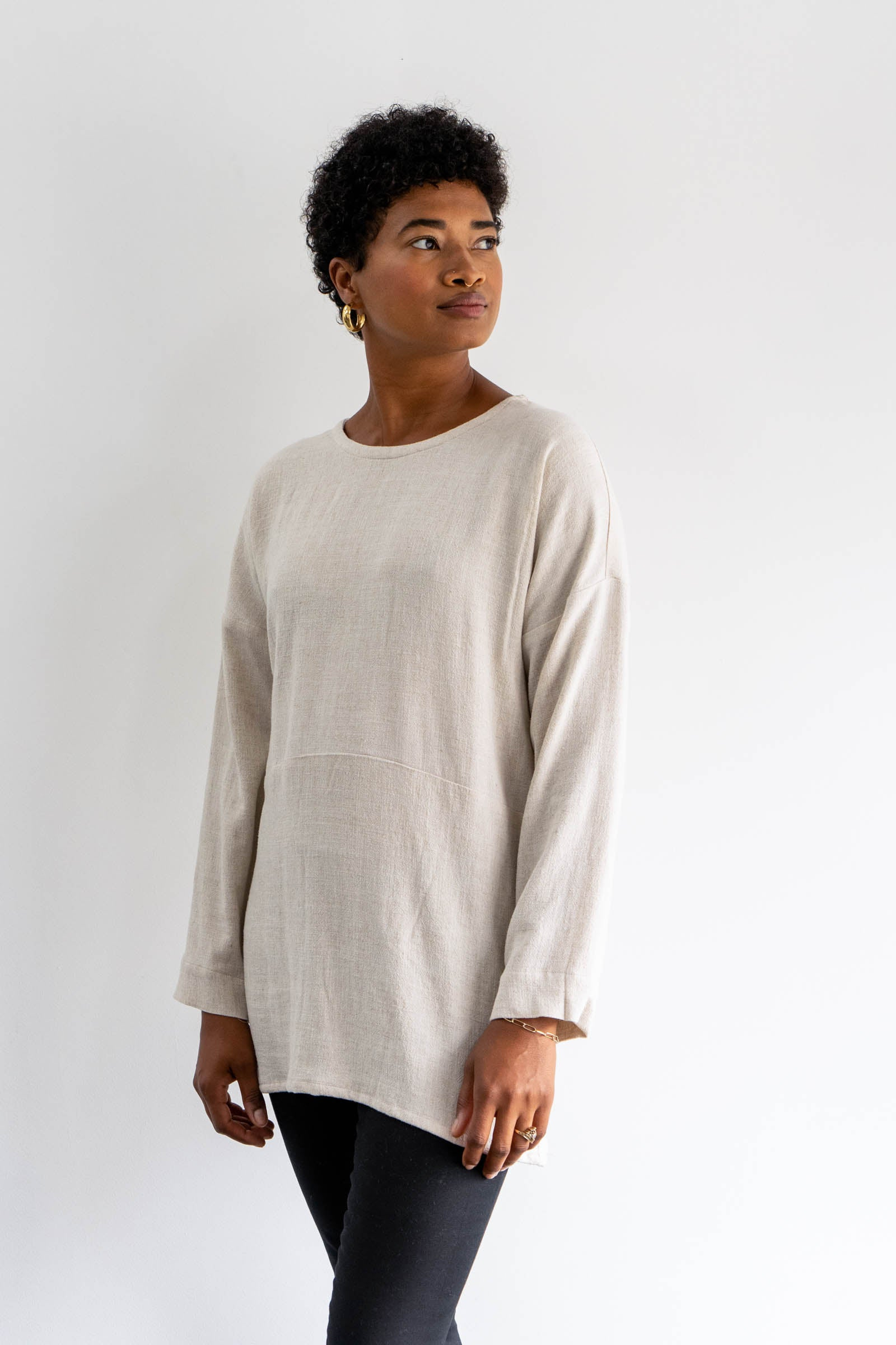 Dylan Tunic in Cotton