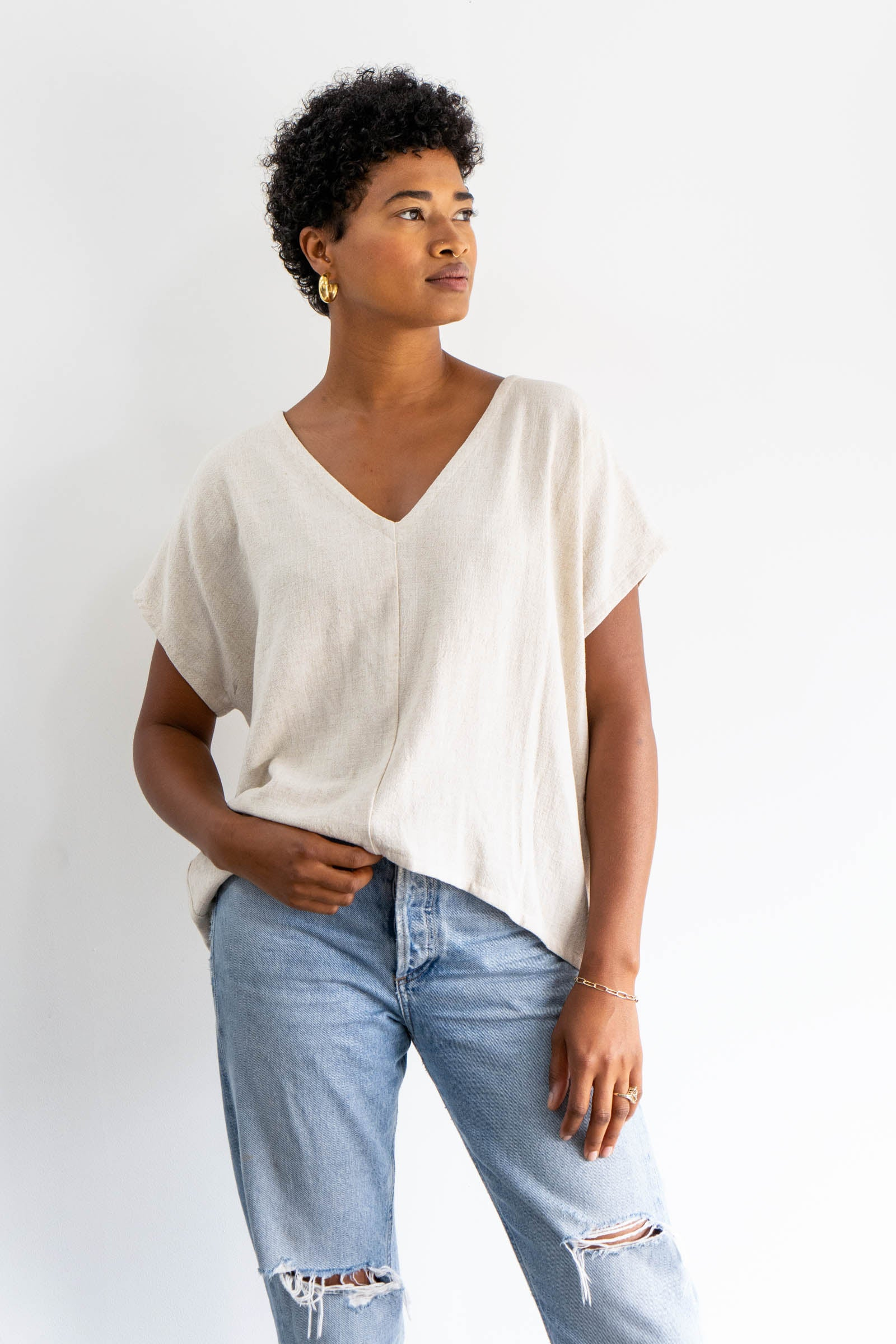 Mira Top in Cotton