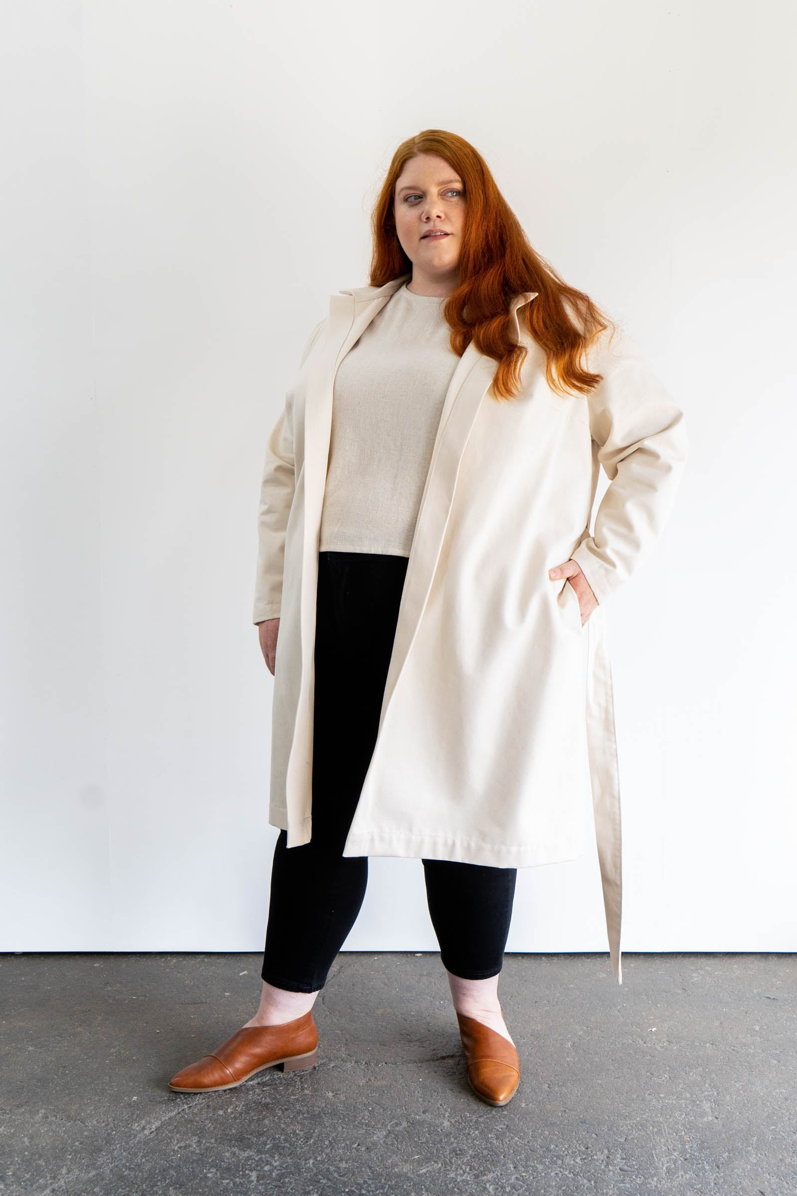 Fern Trench in Cotton Canvas