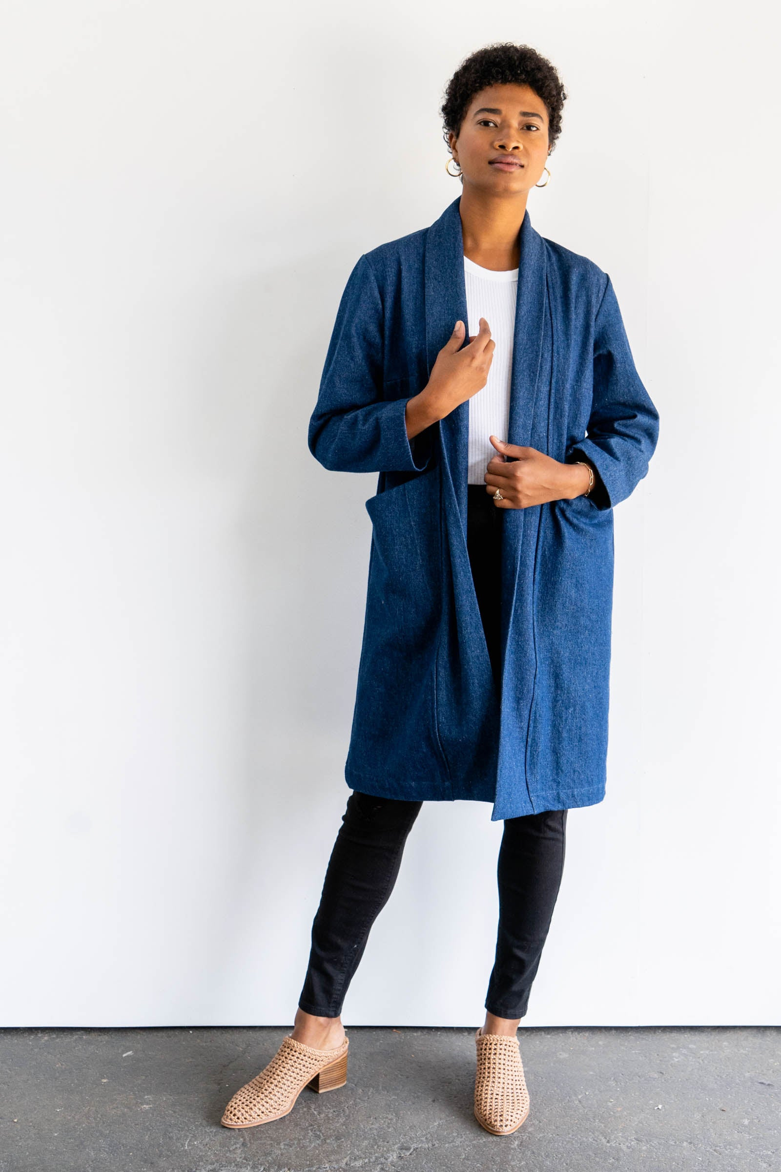 Cardiff Trench in Cotton Canvas