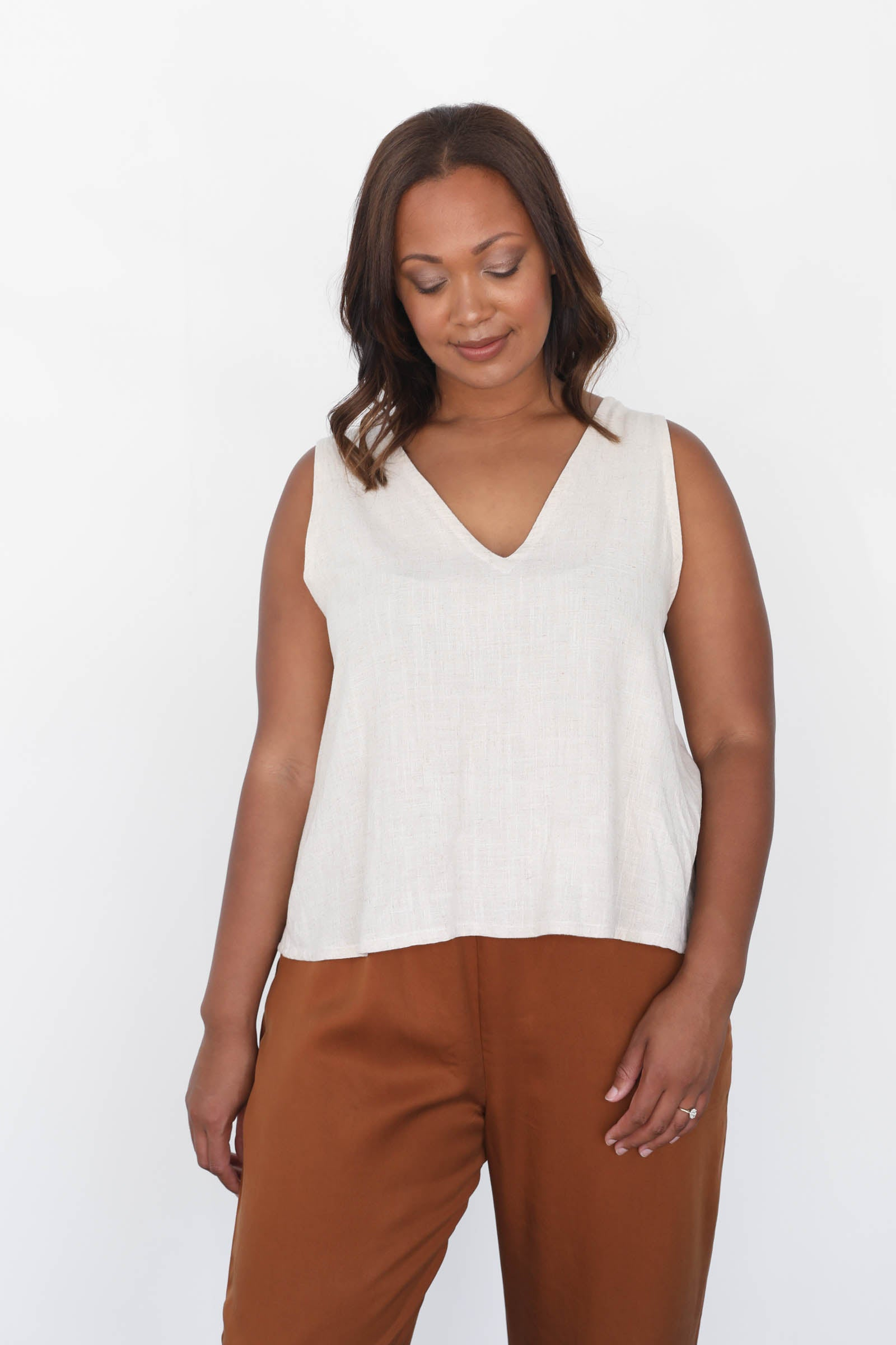 Hayes Tank in Cotton