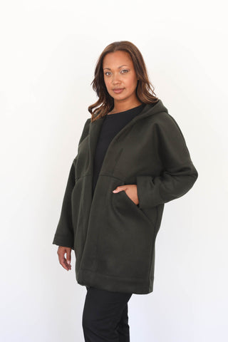 Cardiff Coat in Heavyweight Wool