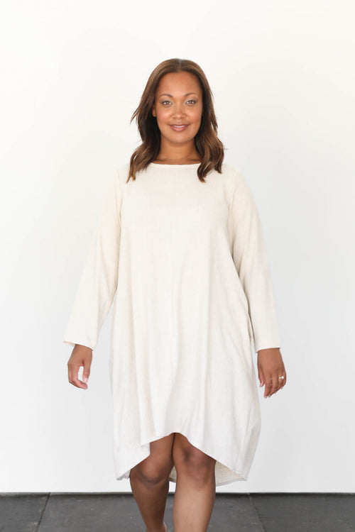 Mesa Long Sleeve Dress in Cotton